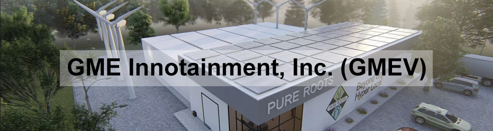 GME Innotainment, Inc. (GMEV) banner